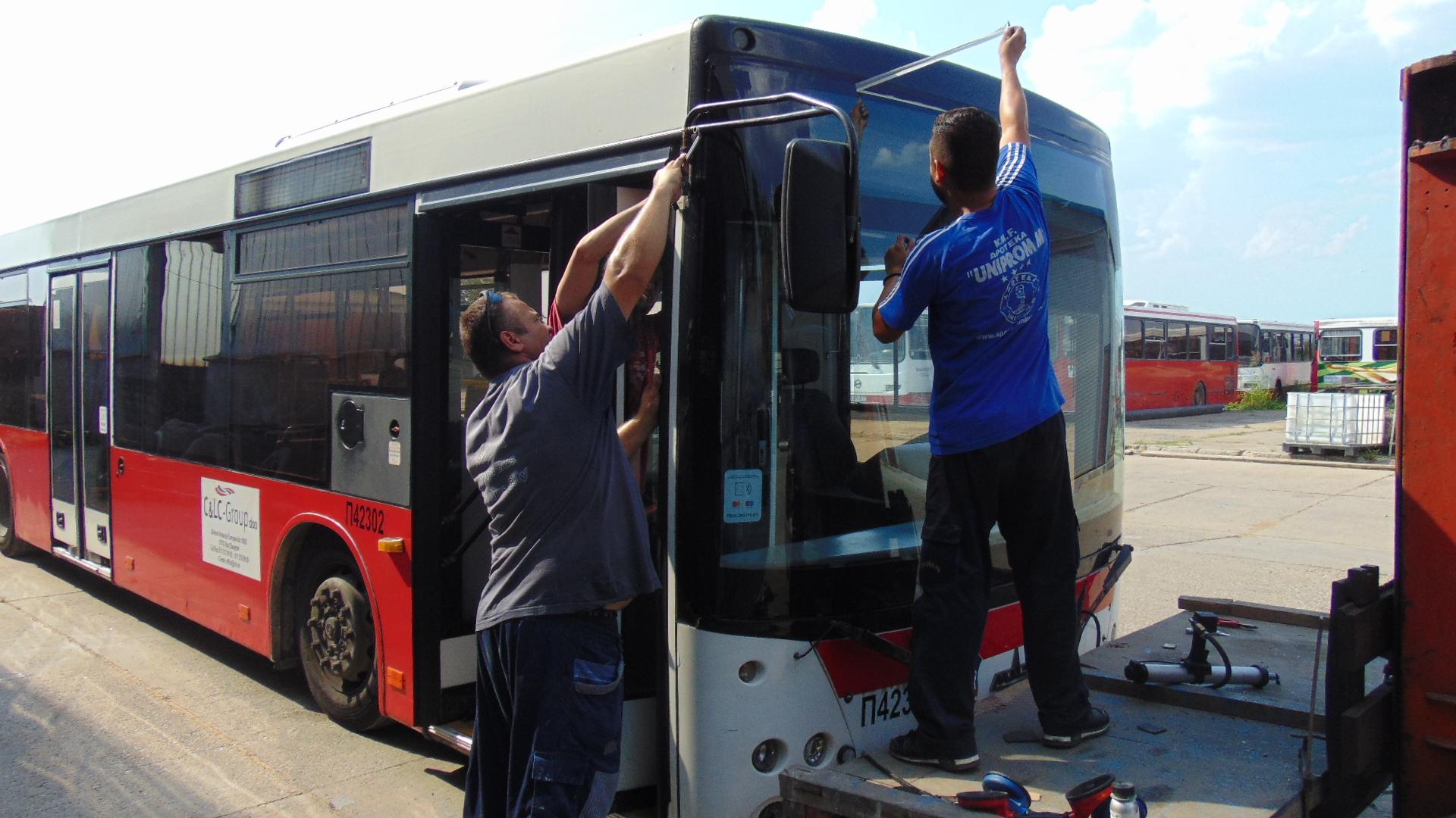 Ugradnja sofeke na autobusima
